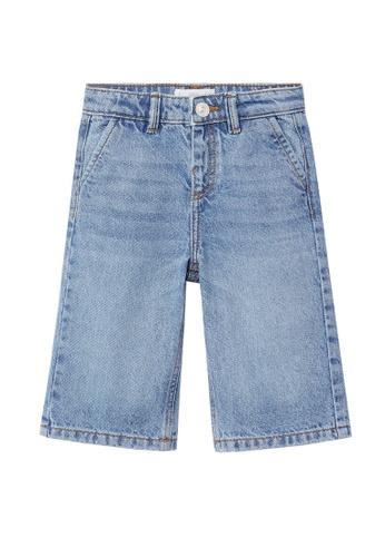 MANGO BABY blue Culotte Jeans A9BF4KA121AD96GS_1