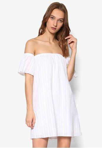 Emerson 露肩連身裙, 服esprit台灣門市飾, 洋裝