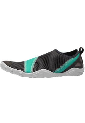 paperplanes Paperplanes-1363 Mesh Super Light Aqua Slip-Ons Shoes US Women Size PA110SH90ZPHHK_1