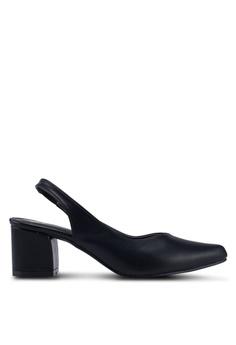 a53fe5e1 Bata black Plain Pump Heels 6BAFESHAE2E4C5GS_1
