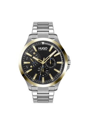 Hugo Boss black HUGO Leap Black Men's Watch (1530174) C9AAAACA8B8036GS_1