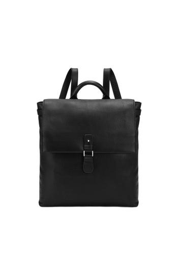 RABEANCO black RABEANCO RIE Backpack - Black 869C4ACAF68DA1GS_1
