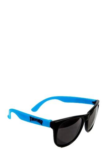 Thrasher blue Thrasher Sunglasses Neon Blue A38C6GL93780CBGS_1