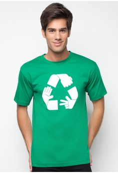 Rock Paper Scissors Recycled T-Shirt