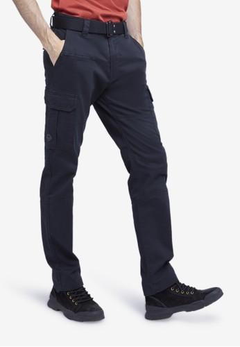 MGEE black Mgee Cargo Pants 318BCAA23341A3GS_1