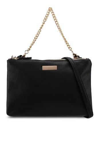 Call It Spring black Martignanadipo Crossbody Handbag 68A2EAC21DE076GS_1