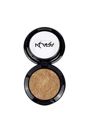 KLARA COSMETICS gold Shimmer Eyeshadow #7 - Gold Rush ACF31BE0FDDDC0GS_1