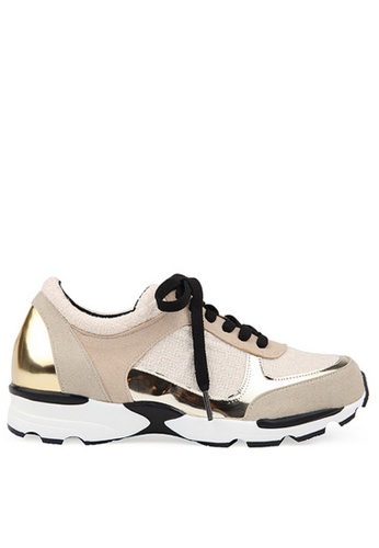 SPUR multi and beige Boto Gild Sneakers SP642SH80NRZHK_1