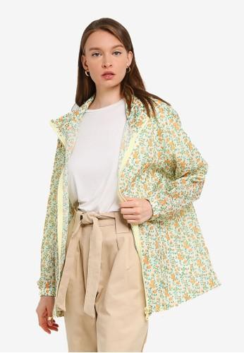 Compania Fantastica multi Floral Hooded Raincoat A5E05AA8C5B1AFGS_1