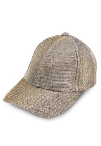 金屬感鴨舌帽,esprit holdings 飾品配件, 飾品配件