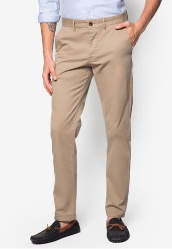 修身斜布長褲, 服esprit服飾飾, 長褲