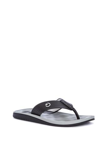 Cartago grey Verona Thong Ad Flip Flops 68813SH965687FGS_1