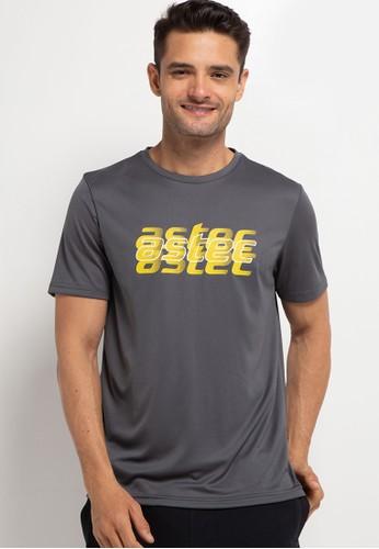 Astec grey Chayton T-Shirts E09DEAA31627D1GS_1