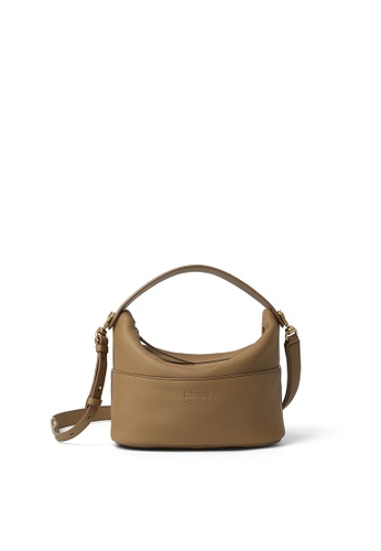 RABEANCO brown RABEANCO NINA Shoulder Bag - Dark Camel 1FC21AC267724CGS_1