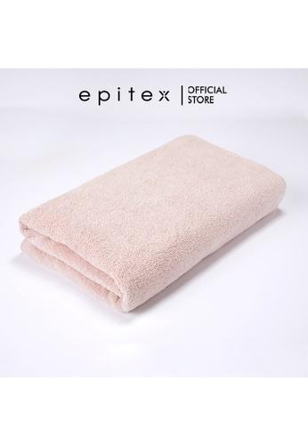 Epitex pink Epitex Anti Odor 100% Cotton Bath Towel - Gym Towel - Bathing Towel - Comfortable Towel (Nude) 4263CHLB8AEC01GS_1