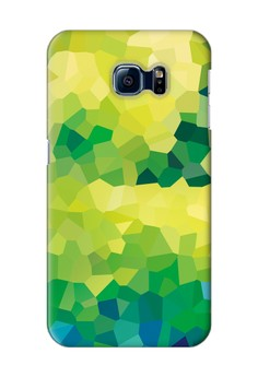 Stained Glass Glossy Hard Case for Samsung Galaxy S6 Edge
