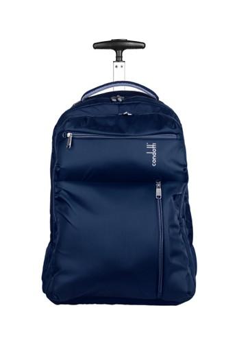 Condotti blue Condotti 63090 Backpack Trolley 19 inch  - Blue BF439ACCF6C613GS_1