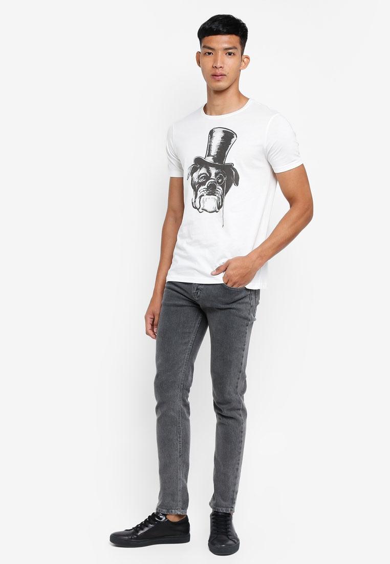 T Graphic White OVS Star Shirt qrgxdSrW0w