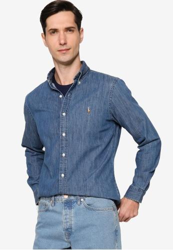 Polo Ralph Lauren 海軍藍色 Cubdppcs-Long Sleeve-Sport Shirt 2EBD9AA3204D61GS_1