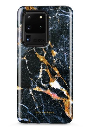 Polar Polar black Winter Forest Samsung Galaxy S20 Ultra 5G Dual-Layer Protective Phone Case (Glossy) 8708AAC37DC2DEGS_1