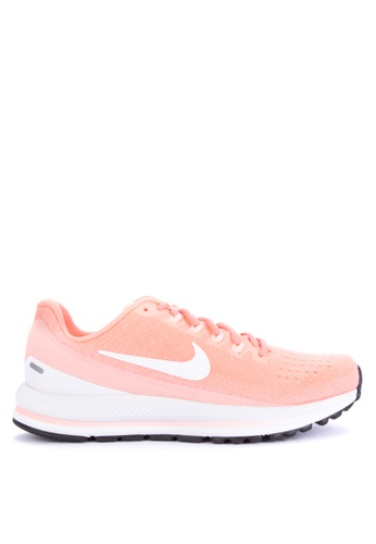 Nike white and pink Women's Nike Air Zoom Vomero 13 Running Shoes C6B1BSH7959455GS_1