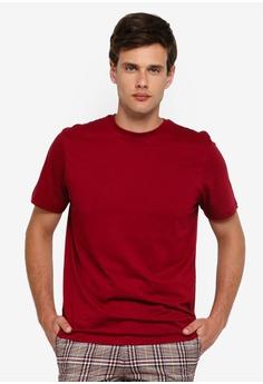 92c9a2103840d Topman red Burgundy Classic T-Shirt 49113AAF96E570GS 1