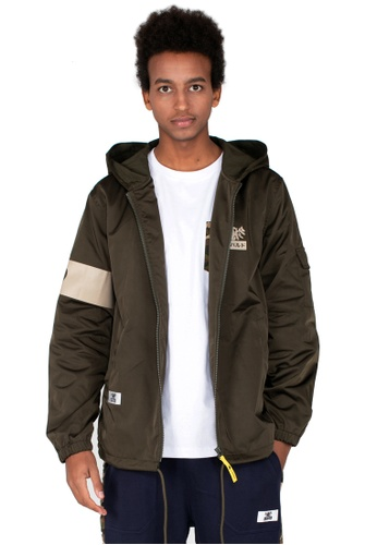 Reoparudo green RPD Zip Hoodie Jacket (Army Green) FC94EAAA89FEC0GS_1