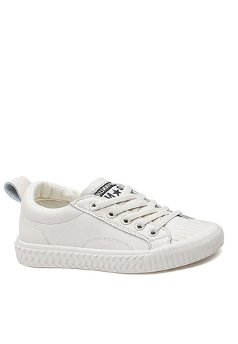 Twenty Eight Shoes white VANSA Comfortable Leather Sneakers VSK-T727 E96FAKSBF558BAGS_1