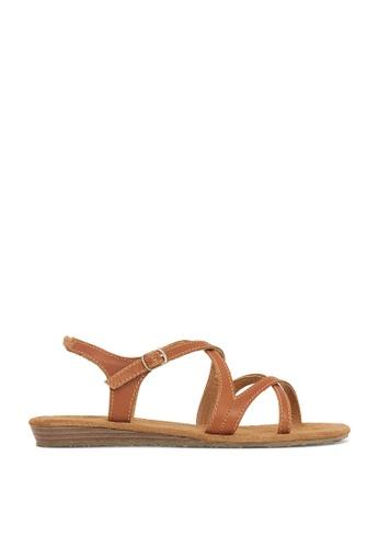 ROC Boots Australia brown Capture Tan Sandal RO289SH50BPTSG_1