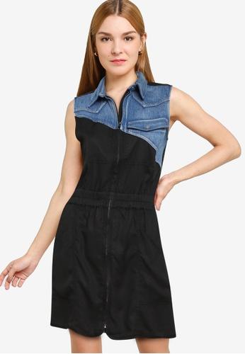Desigual black Sidney Dress 57CE2AAC47DDBAGS_1