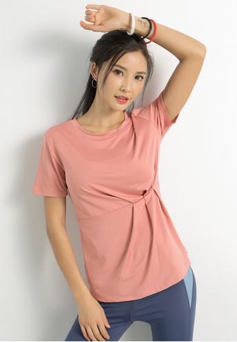 HAPPY FRIDAYS Women's Yoga Short Sleeve Tees DK-TX03 BAD71AA5E99B15GS_1