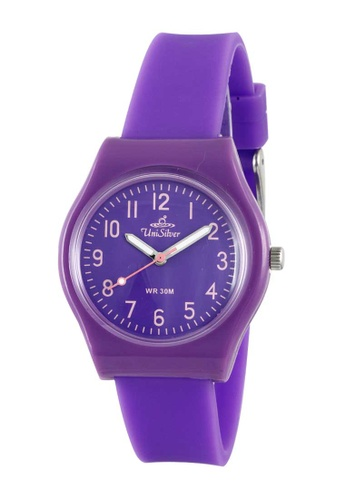 UniSilver TIME purple Women's Analog Rubber Watch KW3494-2002 890D4AC69EEACAGS_1