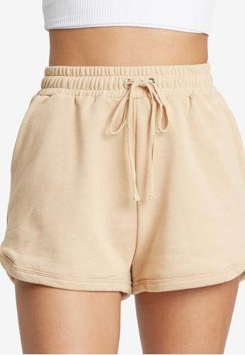 Calli brown Alessia Shorts 4E9A3AA0BA1722GS_1