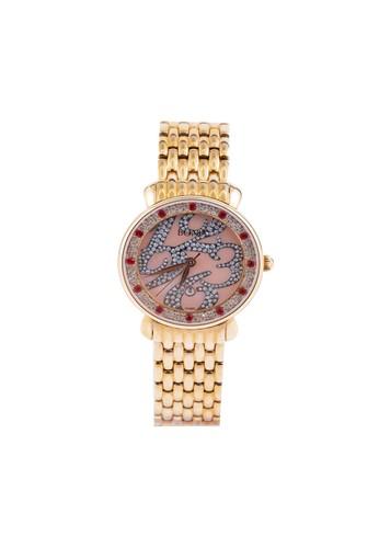 BONIA gold Bonia B10135-2555S - Jam Tangan Analog Wanita - Rose Gold BO710AC61AZQID_1