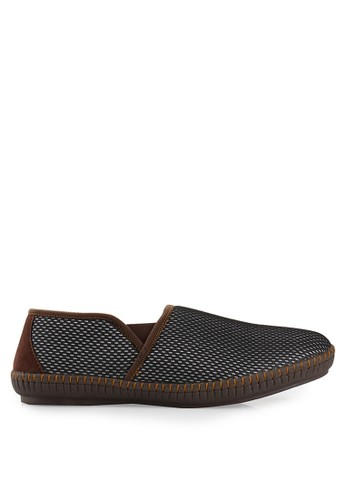 Dr. Kevin silver and brown Shoes 13261 Canvas DR982SH40EULID_1