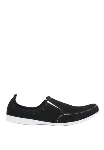 Dr. Kevin black Dr. Kevin Men Casual Shoes Slip On 13127 - Black DR982SH0U9J5ID_1