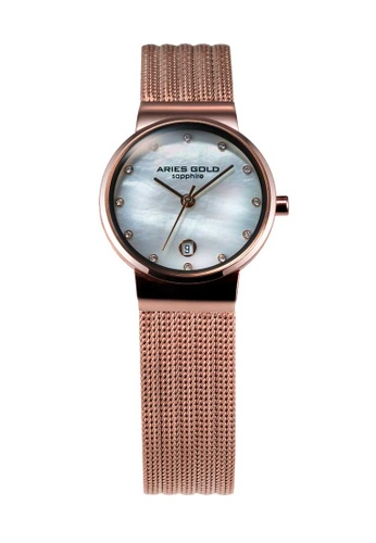 Aries Gold gold Aries Gold Enchant Camille Rose Gold Watch D8724AC9F952F4GS_1