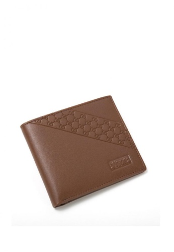 Greatvalueplus brown Newyork Army Men's Genuine Leather Wallet NYA1268-1 FEB03AC19F47B0GS_1