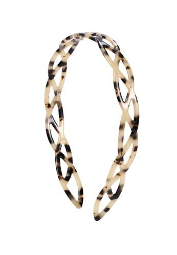 Evita Peroni beige Hulda Headband 5BA5DACBA66BA2GS_1