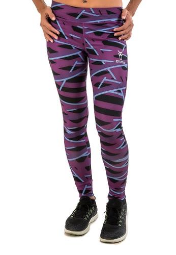 AMNIG purple Amnig Women Yoga Recovery Legging (Purple) 67766AA043DEB1GS_1