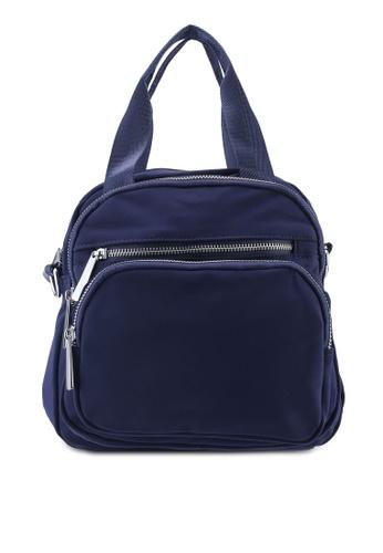 Buy NUVEAU Lightweight Nylon Convertible Top Handle Bag Online on ZALORA  Singapore 145c3be7f8ce8