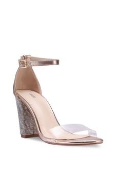Nose Glitter Heel Sandals Rp 479.000. Ukuran 35 37 38 2577eb76a3