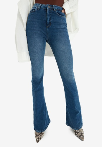 Trendyol navy Navy Flare Jeans BC1B9AA20B1A95GS_1