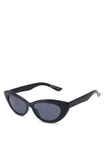 Rubi black Delilah Cat Eye Sunglasses 3EFCDGLB7C54B4GS 1 e052f84d5533