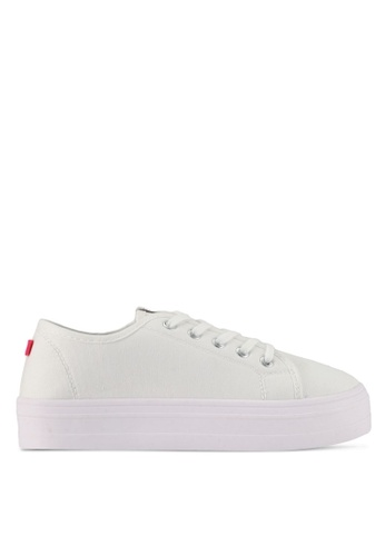 ONLY white Sarina Plain Sneakers DF1BFSH22A7D72GS_1