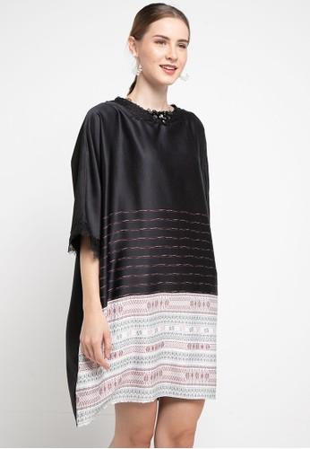 LUIRE by Raden Sirait black Fm Dress Lili Midi Mu 35E06AA233F5E5GS_1