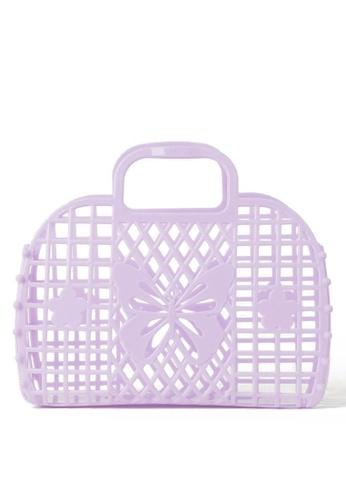 H&M purple Beach Bag 35703KCA314CCEGS_1