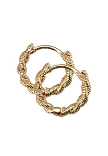 ALDO gold Adworeven Earrings 67032AC74FC881GS_1