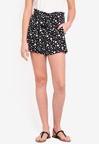 ESPRIT black Woven Regular Shorts 55A9EAA546FFB9GS_1