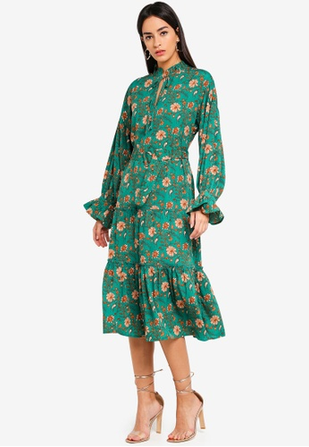 Vero Moda green Rodeo Midi Dress 23A18AAD803B11GS_1